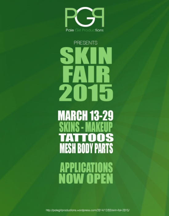 SKIN FAIR APPLICATIONS NOW OPEN